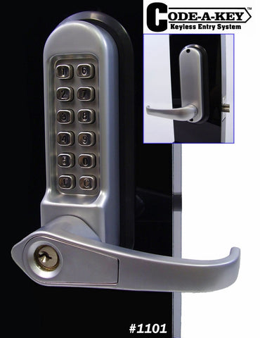 All-Weather Mechanical Keyless Lever Door Lock