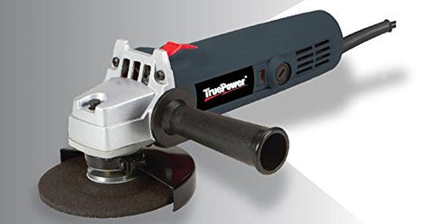 "TruePower 4-1/2"" Heavy Duty Angle Grinder, 4.5AMP, 11,000 RPM"