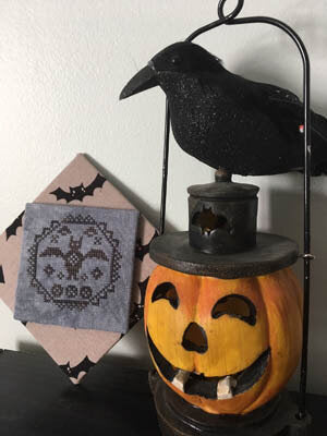 Quirky Quaker Bat (#3 in series) - Darling & Whimsey Designs