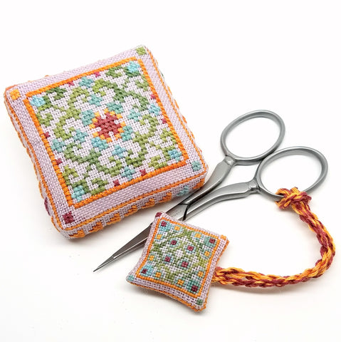 Modern Folk Cross Stitch Kit - StitchyBox Presents Hands On Design #1
