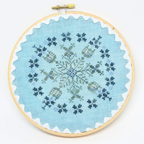 Mint Frost- Lindsay Lane Designs (Stitch It Up)