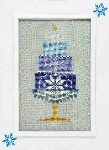 Quaker Cakes - January Cross Stitch Chart