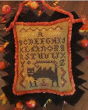 Wicked Cat Sampler Chart - Homespun Elegance