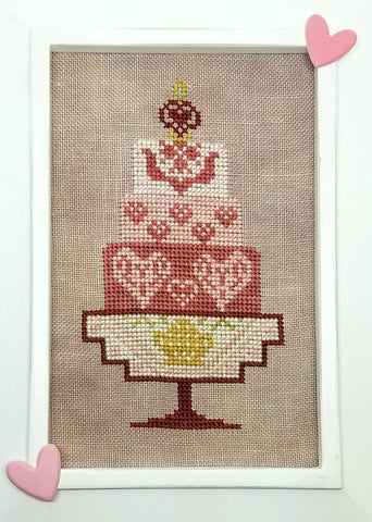 Quaker Cakes - February Cross Stitch Chart