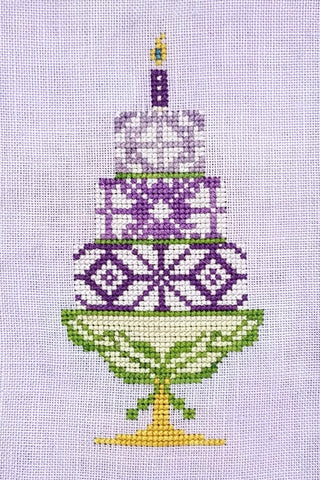 Quaker Cakes - May Cross Stitch Chart