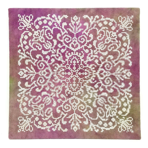 Lace Flowers - StitchyBox Presents Ink Circles Kit #2