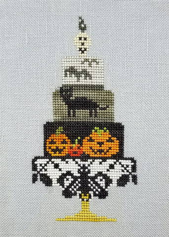Quaker Cakes - October Cross Stitch Chart