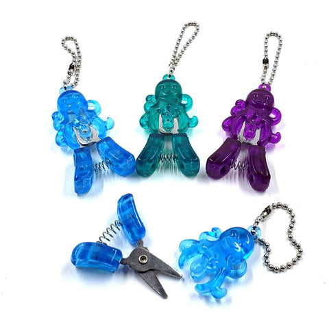 Octopus Thread Snips (multiple colors available)