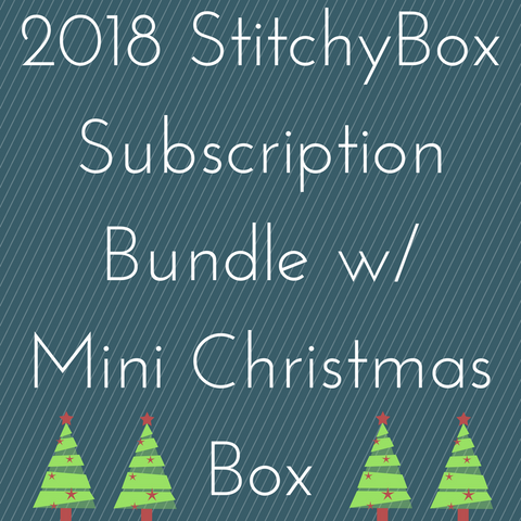 2018 StitchyBox Shipment Subscription Bundle