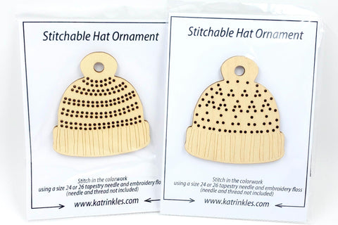 Stitchable Hat Ornament - Katrinkles