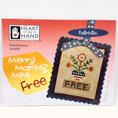Merry Making Mini: Free - Heart in Hand Cross Stitch Chart