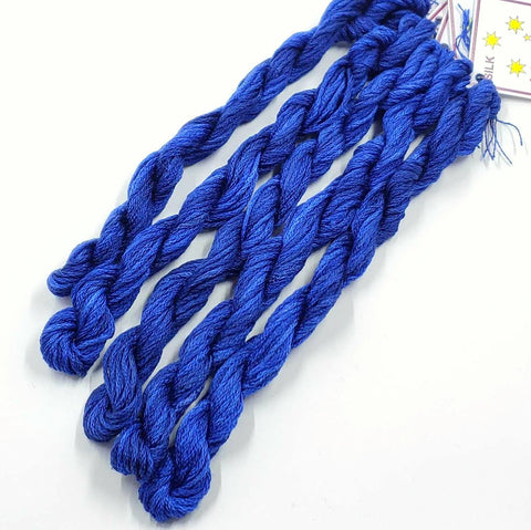 Amager Blue Dinky Dyes Silk Floss (StitchyBox Exclusive)