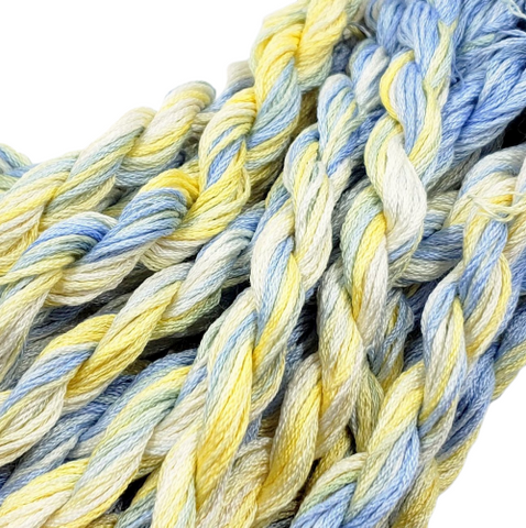 Morning Glory Dinky Dyes Silk Floss (Colorway Debut)