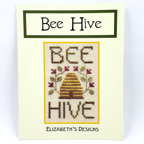 Bee Hive - Elizabeth Designs Cross Stitch Chart