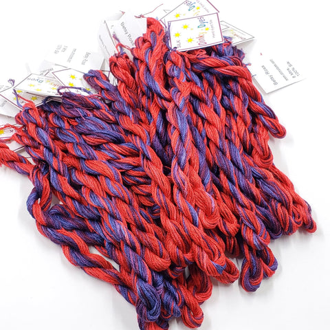 Betsy Ross Dinky Dyes Silk Floss (Colorway Debut)