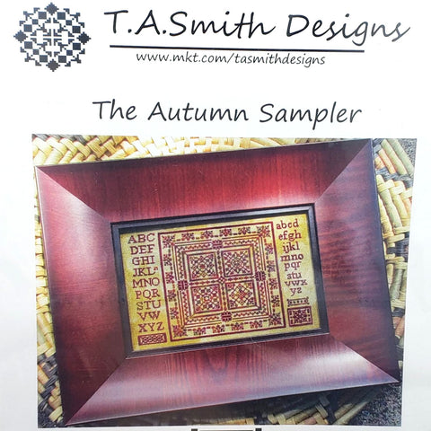 Autumn Sampler - TA Smith Designs Cross Stitch Chart