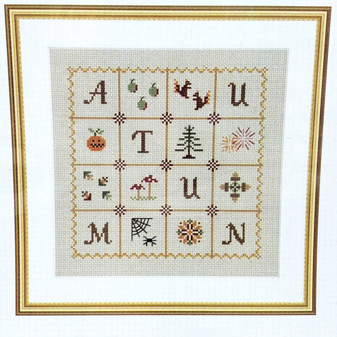 Autumn Sampler - Love Dove Cross Stitch Chart