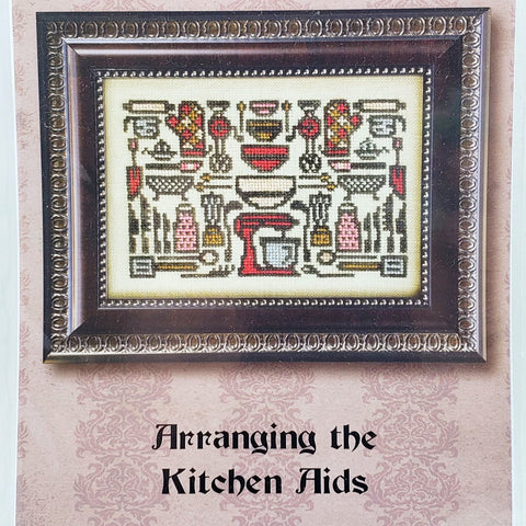 Arranging Kitchen Aids - Ink Circles Cross Stitch Chart
