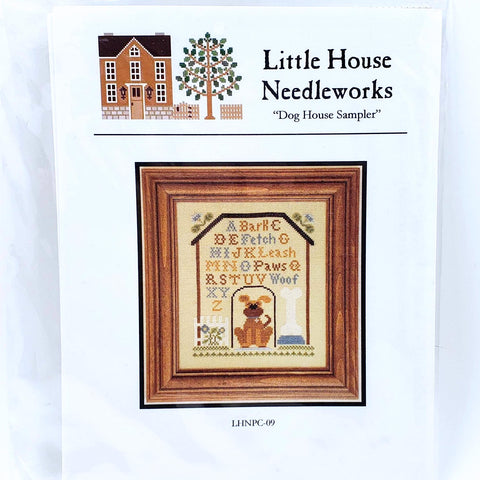 Dog Sampler - Little House Needleworks Chart