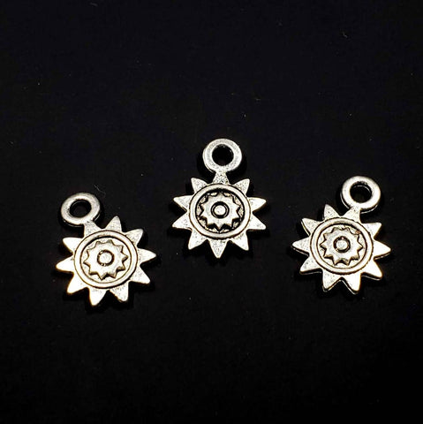 Double-Sided Sun Charm