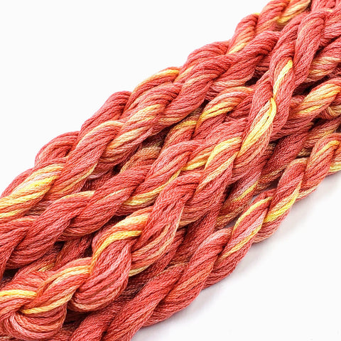 Honeycrisp Dinky Dyes Silk Floss (Colorway Debut)