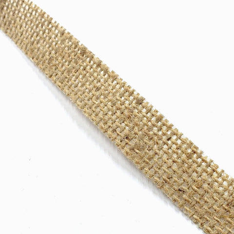 Natural Jute Ribbon 5/8th inch wide