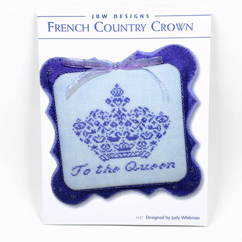French Country Crown - JBW Designs Cross Stitch Chart