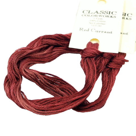 Red Currant - Classic Colorworks Cotton Floss