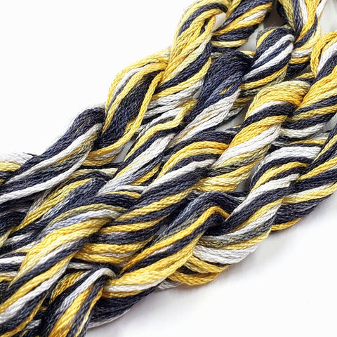 New Years Eve Dinky Dyes Silk Floss (Colorway Debut)