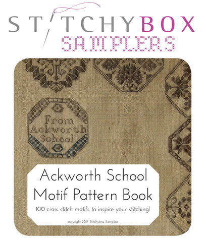 Ackworth School Motif Pattern Book - StitchyBox Samplers