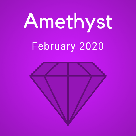Amethyst Color Countdown Shipment - February 2020