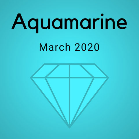Aquamarine Color Countdown Shipment - March 2020