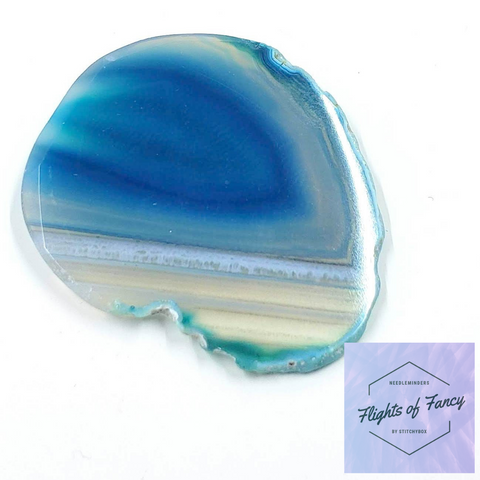 Blue Lagoon Agate - Flights of Fancy Needleminder