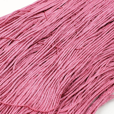 Blush - 8 yard skein - StitchySilk French Spun Silk - Limited Edition