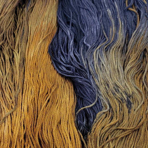 Burnt Carmel - Flower Silk by StitchyBox (Deep Dyed Yarns Collab 2020)