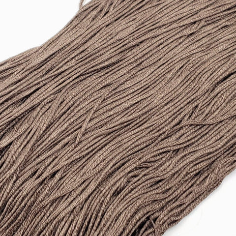 Cedar - 8 yard skein - StitchySilk French Spun Silk - Limited Edition