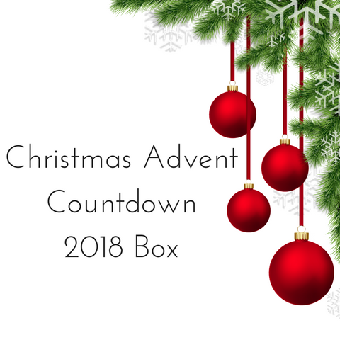 Christmas Advent 2018 Countdown Box