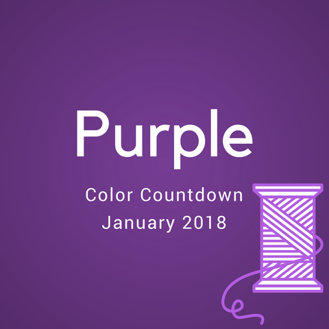 Purple Color Countdown Shipment - January 2018