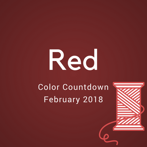 Red Color Countdown Shipment - February 2018