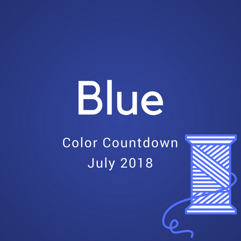 Blue Color Countdown Shipment - July 2018