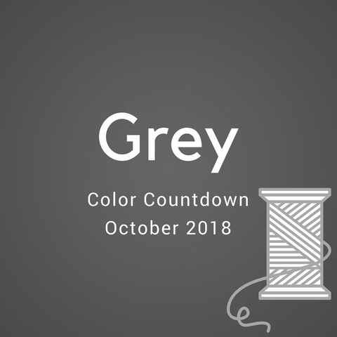 Greyscale Color Countdown Shipment - October 2018