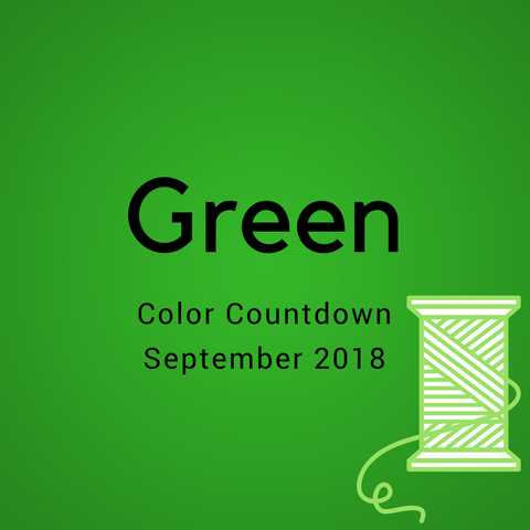 Green Color Countdown Shipment - September 2018