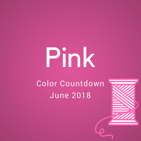 Pink Color Countdown Shipment - June 2018