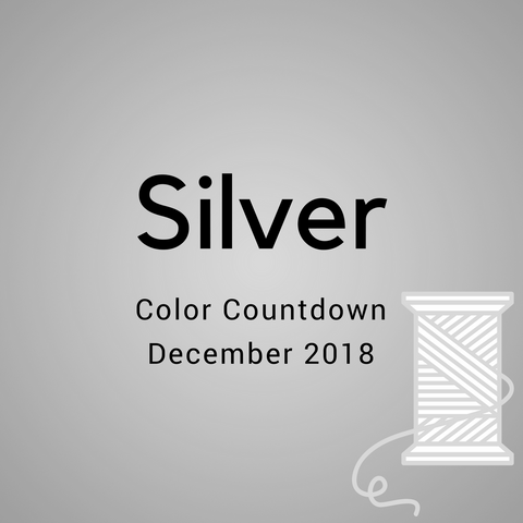 Silver Color Countdown Shipment - December 2018