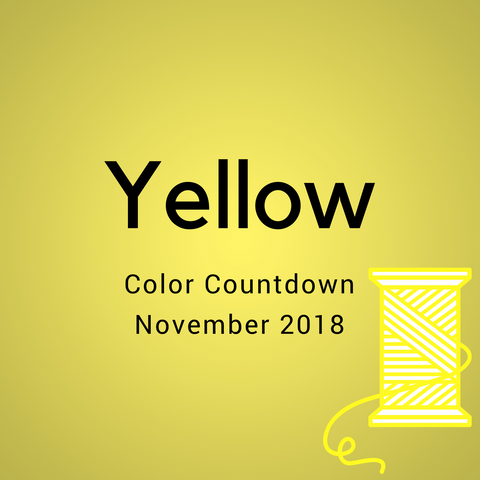 Yellow Color Countdown Shipment - November 2018