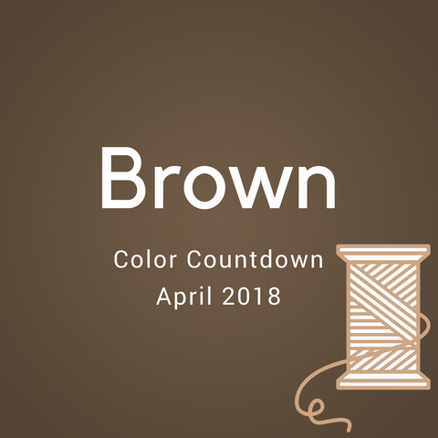 Brown Color Countdown Shipment - April 2018