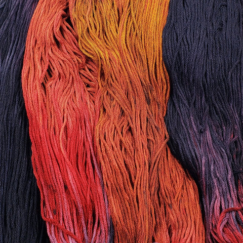 Devil's Crossroads - Flower Silk by StitchyBox (Deep Dyed Yarns Collab 2020)
