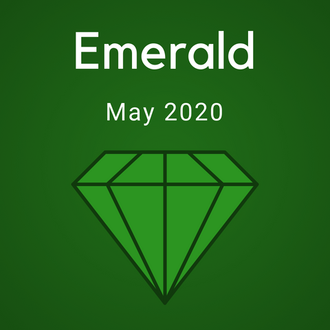 Emerald Color Countdown Shipment - May 2020 - Ready to Ship