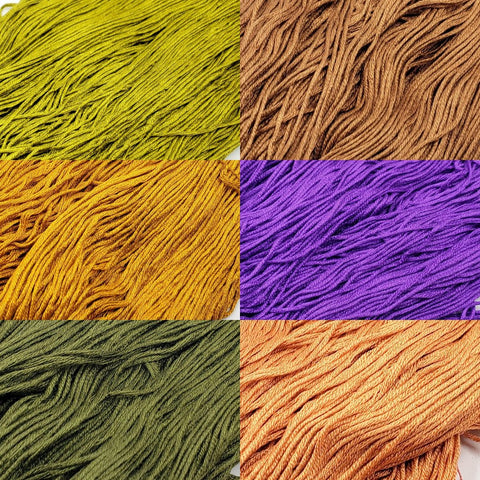 Halloween - StitchySilk Color Palette Set