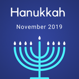 Hanukkah Color Countdown Shipment - November 2019